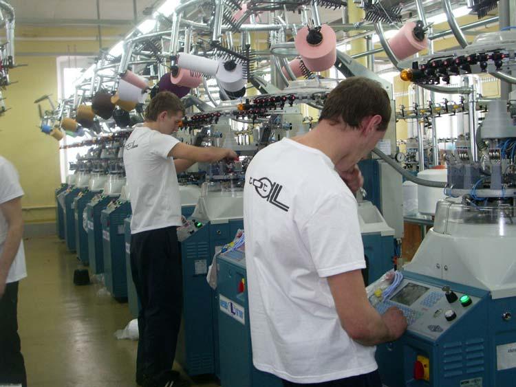 Производство носков. Производители чулочно-носочных изделий