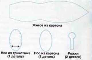 Игрушки из носков: улитка