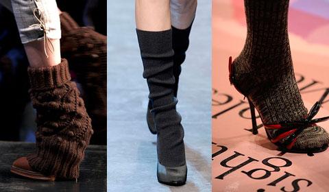 Носки вязаные. Прикольные носки.История носков (08)