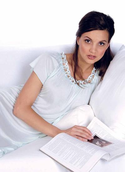 Женские ночные сорочки. История ночной сорочки (06)