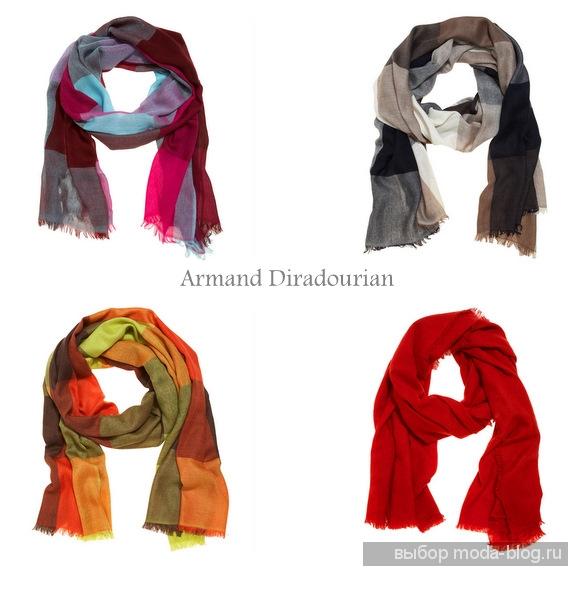 Женские шарфы 2014