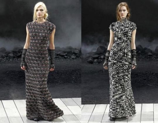 Трикотажное платье с длинным рукавом своими руками
