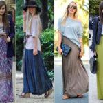 Длинные юбки — сплошная интрига
