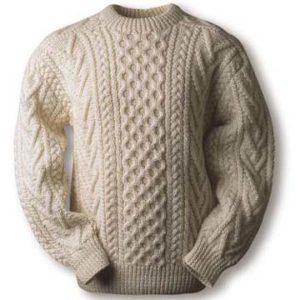 Аранское вязание.  Аранские свитера, аранская техника вязания.