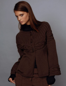Модели вязаной одежды. Жакет (jaquette)