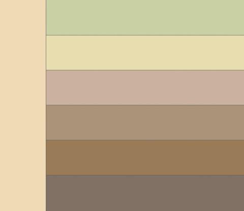 Таблица сочетания цветов. Какие цвета сочетаются с бежевым