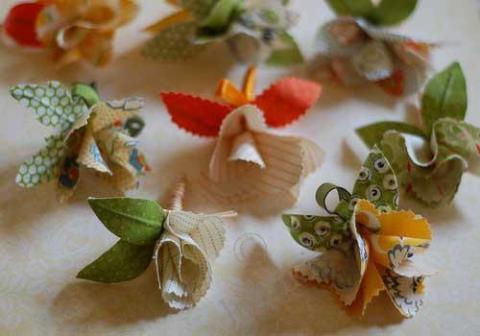 Цветы из ткани своими руками - поделки из ткани