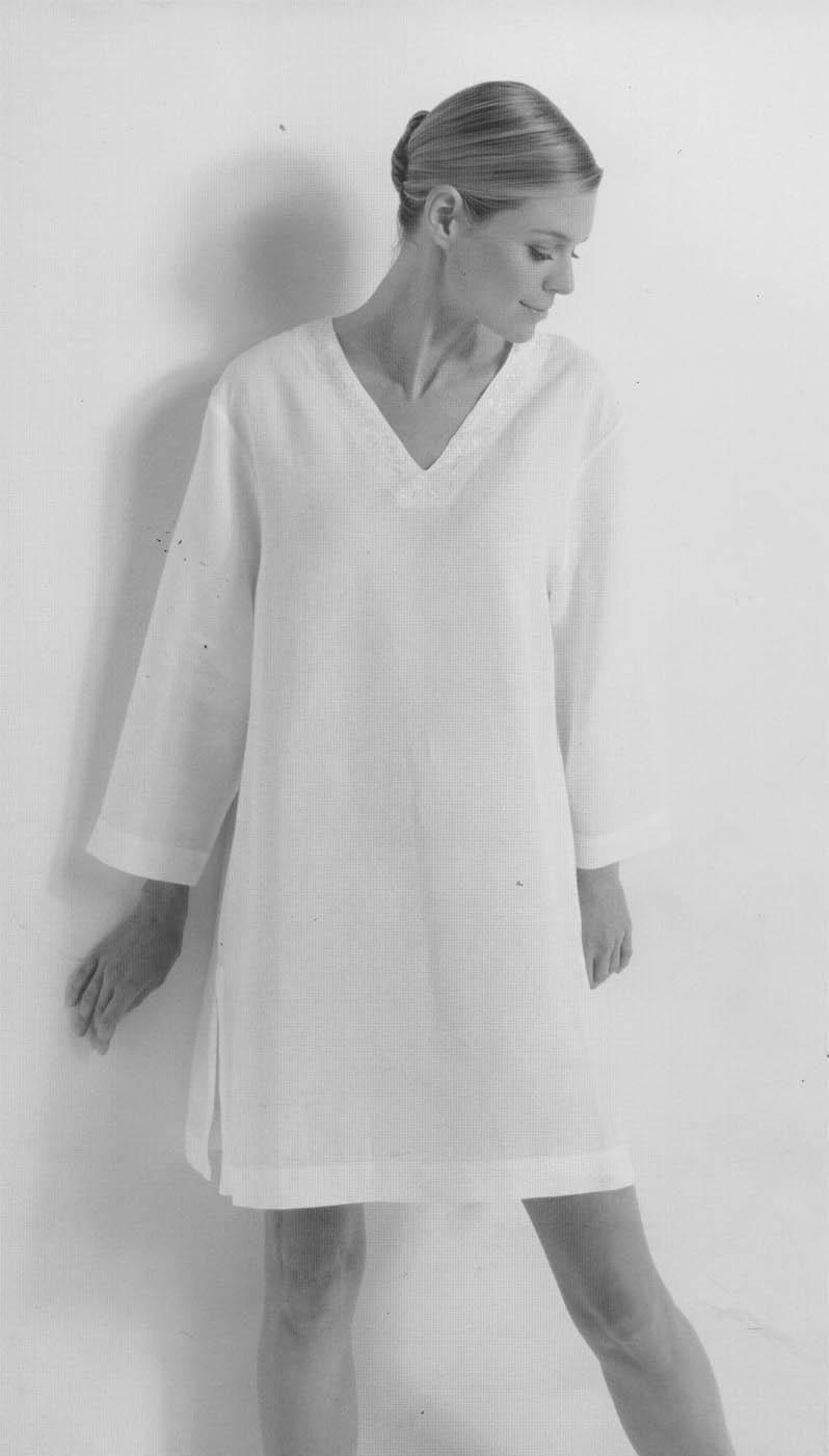 Женские ночные сорочки. История ночной сорочки (04)