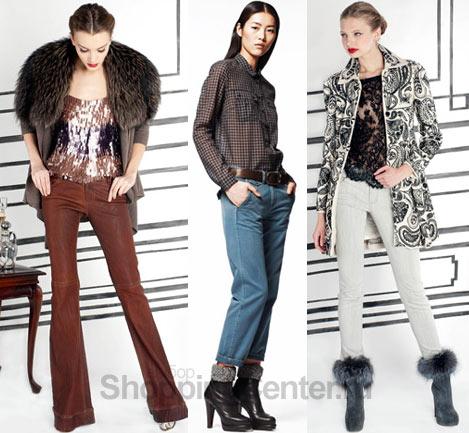С чем модно носить джинсы. Коллекции Alice + Olivia и Gap