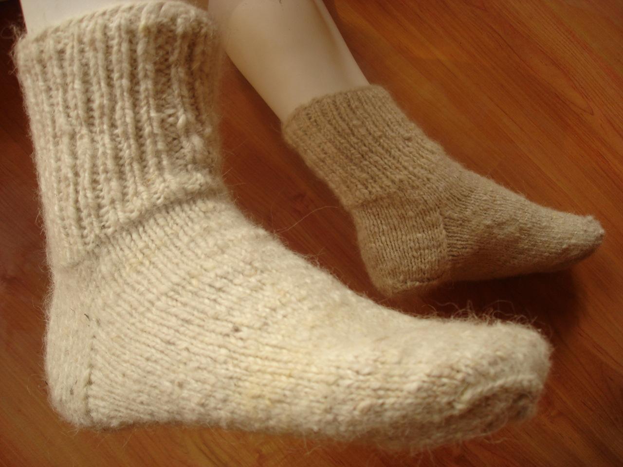 Теплые носки. Шерстяные носки