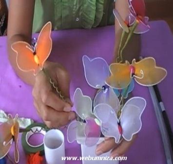 Легкое дыхание счастья – букет из бабочек.