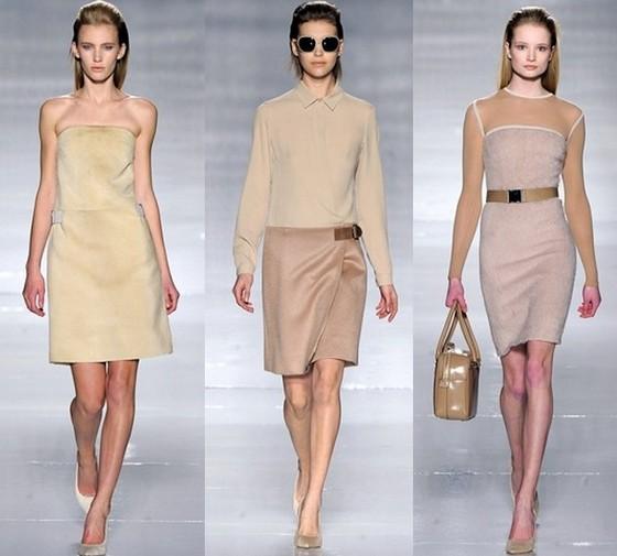 Мода 2012: модные цвета. Фото одежды модных цветов
