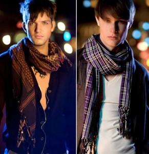 Мужские шарфы. Как завязать мужской шарф