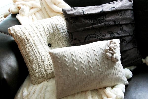 Чехлы для подушек. Мастер-класс
