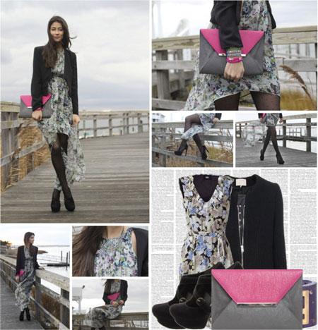 Уличная мода - цвета одежды