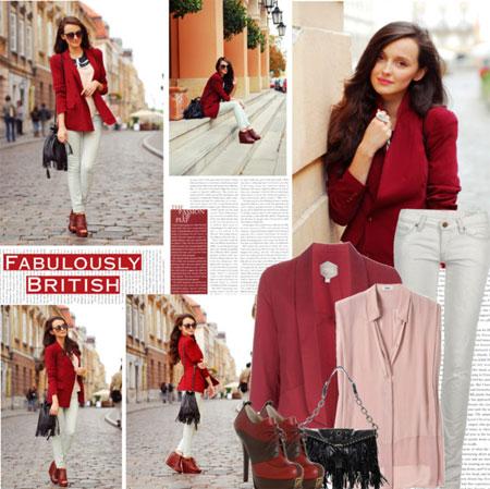 Уличная мода - сочетание цветов в одежде