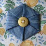Цветы из джинсовой ткани. Мастер-класс