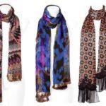 Модные платки и шарфы 2014-2015