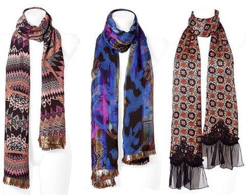 Модные шарфы 2014