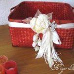 Идеи декора — цветы из лент. Мастер-класс