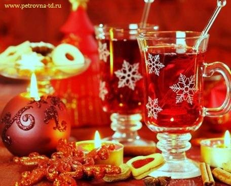 Праздничный стол на Старый Новый Год